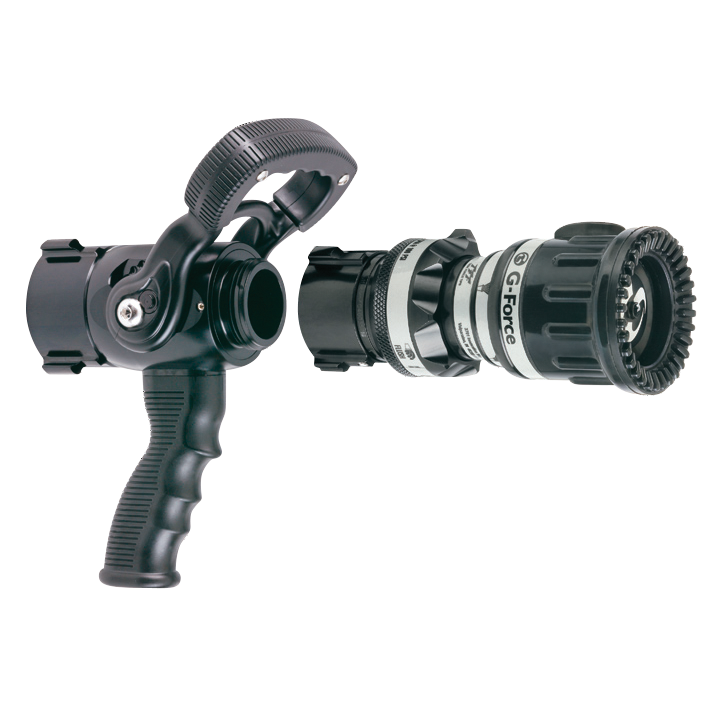 2 Piece - Ball Valve with Pistol Grip