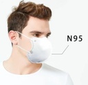 N95 Anti-Bacterial Mask w/o Exhalation Valve