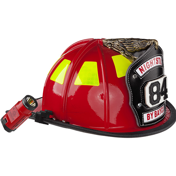 Bayco Nightstick FORGE Intrinsically Safe XPP-5465R Helmet-Mounted Multi-Function Flashlight
