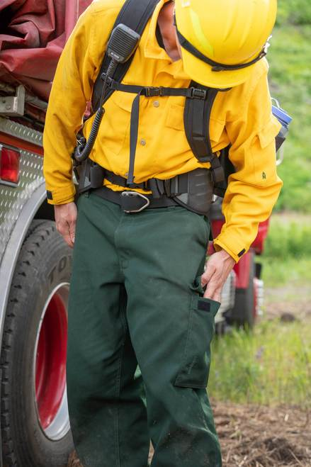 True North NFPA 1977 Wildland Pants action 2