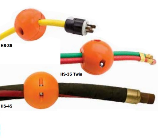 Hose Stop only - HS-3 Hose Reel Ball Stop - Orange *Sale Price $14 for 2*