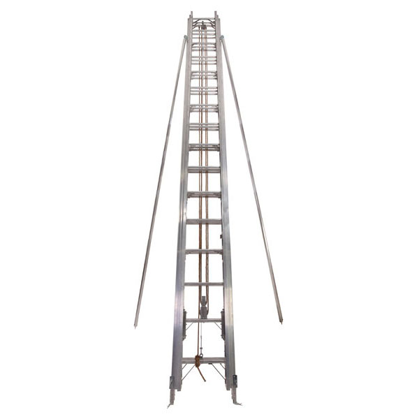 3 Section Ladder with Stay Poles