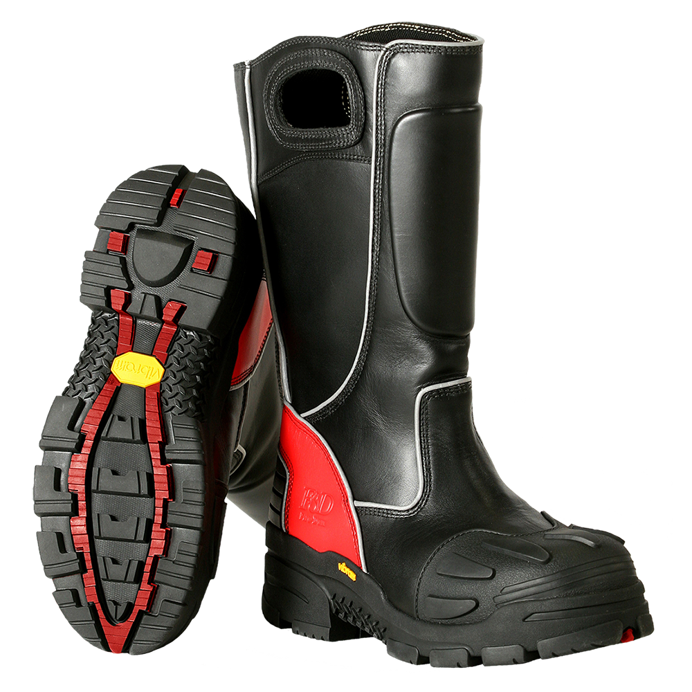 Fire-Dex FDX100 Leather Firefighter Boots