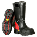 [112710100] Fire-Dex FDX100 Leather Firefighter Boots (Regular, 5)
