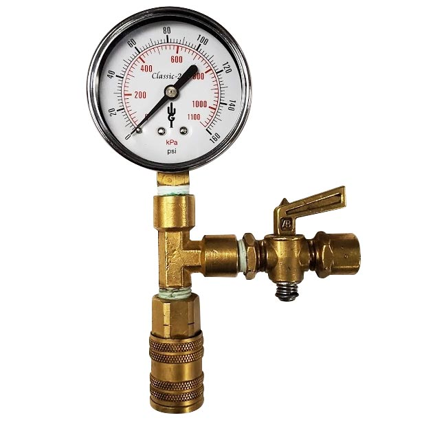 Hydrant Test Cap Gauge Assembly - No Cap