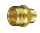 "[222410190] Brass insert adapters for Scotty around the pump foam system (19mm (0.75"") Male GHT x 9.5mm (0.375"") Male NPT)"
