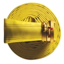 "[V-15112] Megaflo LDH Attack/Supply Hose (100mm (4"") Storz x 25ft Yellow)"