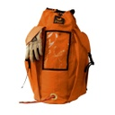 [V-16407] Large Deluxe Rope Pack with Pockets & Straps - PMI (Orange)