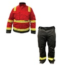 [V-16593] Coverall 2pc FR 9oz.- Jacket & Pants (Small, Small)