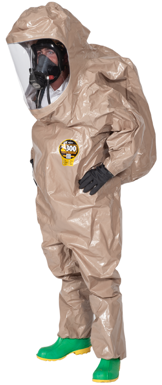 Kappler Zytron 300 Fully Encapsulating (Splash) Suit - Rear Entry