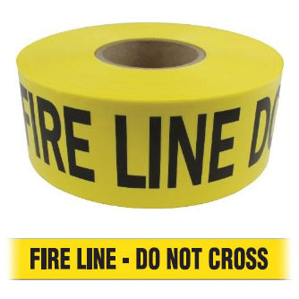 Barricade Tape - FIRE LINE - DO NOT CROSS