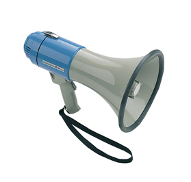 Hand Held Megaphone w/ built in Siren