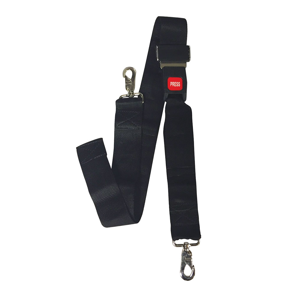 Restraint Strap with Metal Buckle