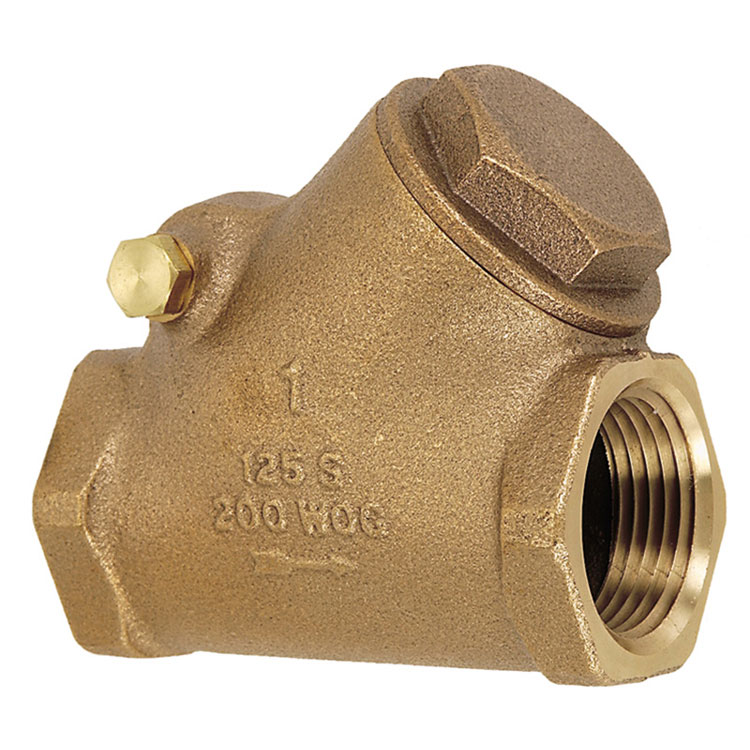 "V307-075 3/4"" PREMIUM BRONZE SWING CHECK VALVE"