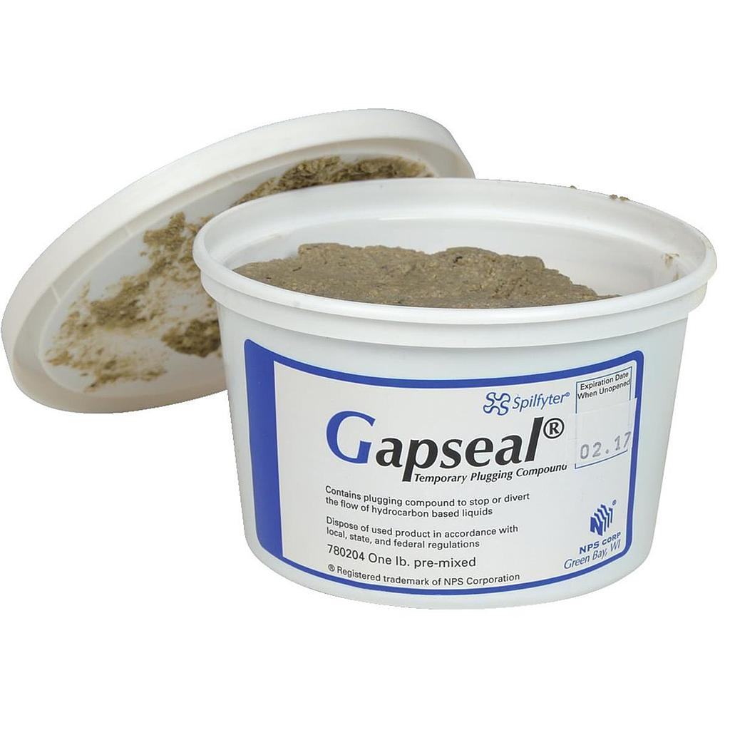 Gapseal Plugging Compound (Case of (4) 1lb containers)