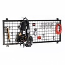 [710002456] GearGrid Slinger Tool Grid ( Slinger Grid 4'W unit includes 3 Large Tool hangers & 1 four prong rack)
