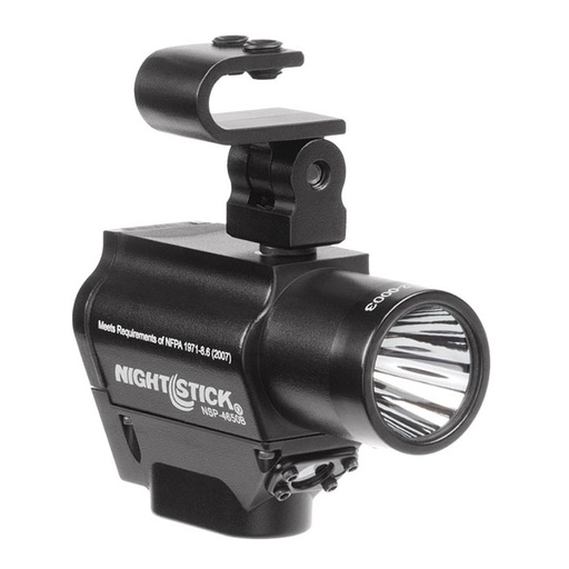 [590000924] Bayco Nightstick NSP-4650B Helmet Mount Multi-Function Dual-Light Flashlight