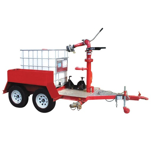 Single Tote Foam Trailer