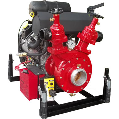 [485040105 (PFP-38hpKHL-2D)] Fire Pump 38hp HP & High Volume - CET