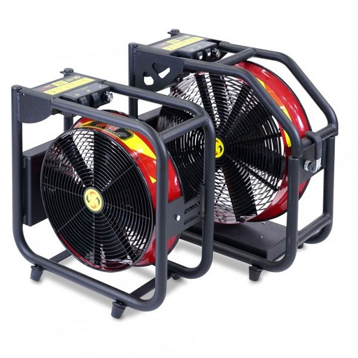 Super Vac Valor Battery Powered PPV Fan