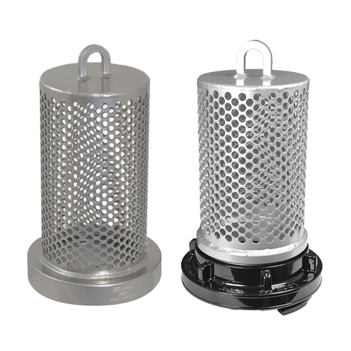 Barrel Suction Aluminum Strainer