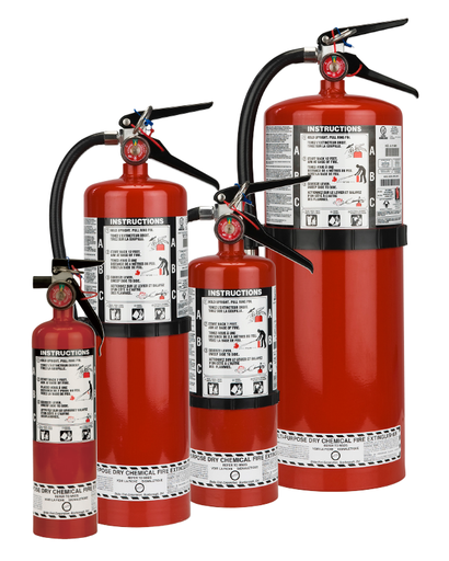 ABC Dry Chemical Extinguisher with Bracket