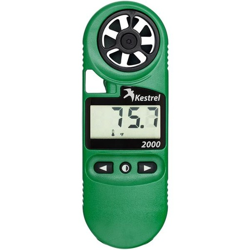 Kestrel Pocket Weather meter, wind, temp, humidity