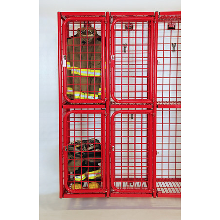 Two-Tier Wall Mount Lockers - GearGrid