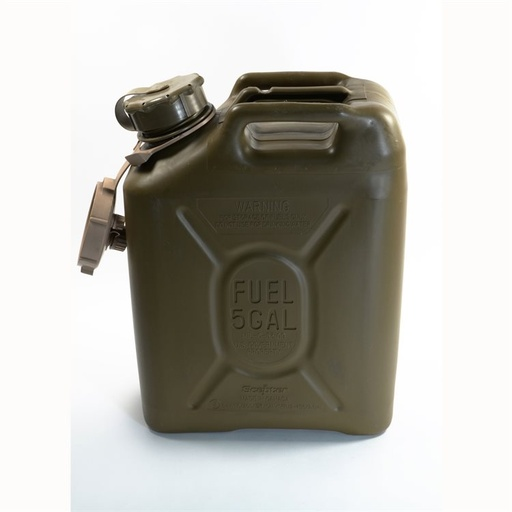 [482020150] Jerry gas can, 5gal (20L), Olive color