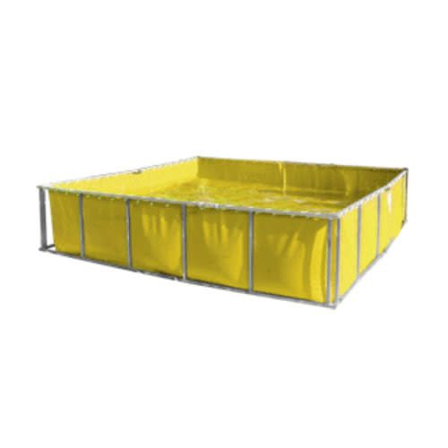 Aluminum Single Fold Framed Port-a-Tank