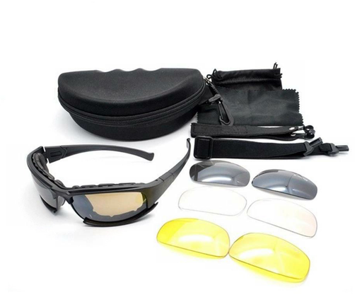 [P-12326] Wildland/Extrication Combination Safety Glasses & Goggles (Package of 5)