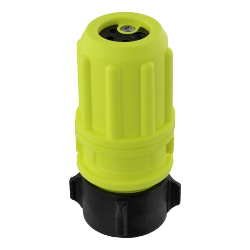 "[462815130] Scotty Revolver Multi-flow Nozzle 3-6-9-12 gpm - 38mm (1.5"") NPSH - Yellow"