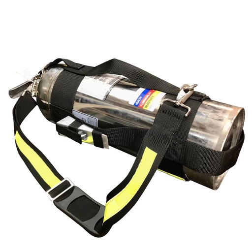[6075] CAN Harness Extinguisher Deluxe Carrying System with Wedge