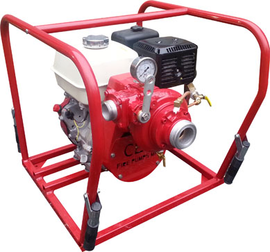 [P-6087 (PFP-11HPHND-M-HP)] Fire Pump 11hp HP - Manual Start - CET