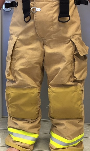 [P-6721] Fire-Dex FX-R Pants Only Gold Armor AP