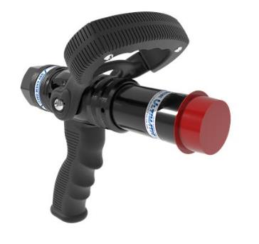 "Ultimatic Dry Chem Nozzle - 25mm (1"") w/ Pistol Grip"