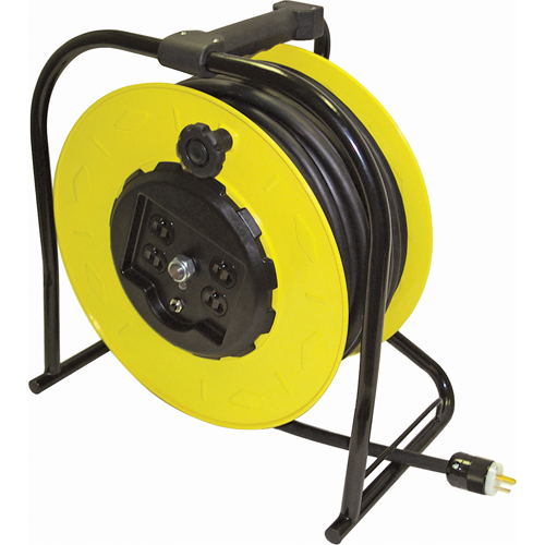 [P-6786] Industrial Cord Reel - 100ft, 12/3 (cord included)