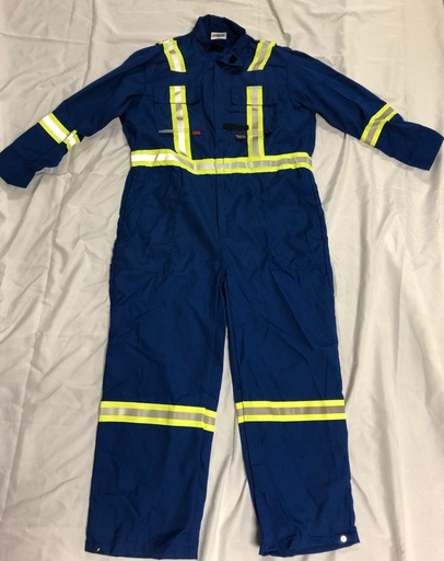 [P-7056] Demo FR 7oz. Coverall - Royal Blue - 44R - *Sale*