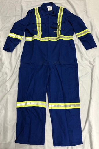 [P-7057] Demo Nomex IIIA 6oz. Coverall - Royal Blue - 44R - *Sale*