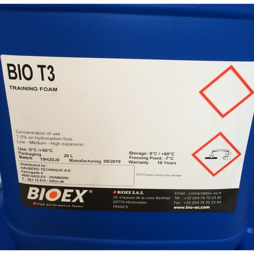 BIO T3 Training Foam - BIOex