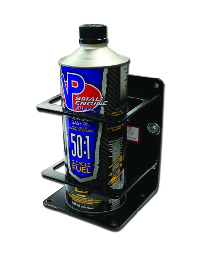 [P-7077] Single Pre-mix/Bar Container Holder Mount- Black