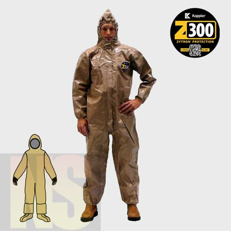 [P-7269] Kappler Zytron 300 Coverall - Rear Entry