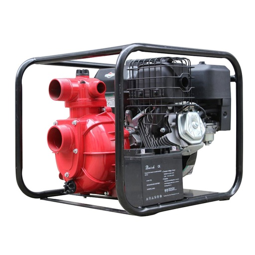"[P-7272] Fire Pump 13hp Frontier Bushfighter Medium Pressure w/ B&S engine 3"" inlet w/electric start"