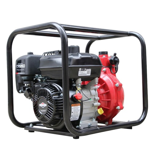 "[P-7273] Fire Pump 6.5hp Frontier Bushfighter Medium Pressure (2"" inlet) Electric Start"
