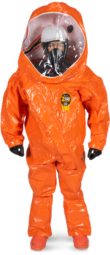 Hazmat Suit Level A Fully Encapsulating- Kappler Zytron 500