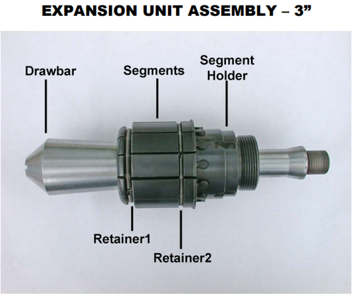 "Parts - for 2"" Expansion Unit Assembly"