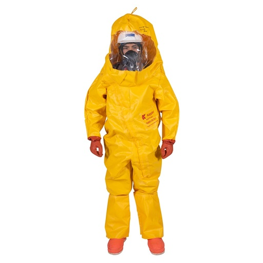 [P-7290] Hazmat Training Suit - Fully Encapsulating- Kappler PVC