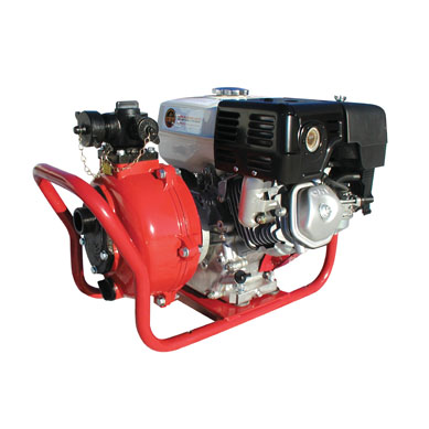 [485012110] Fire Pump 9hp HP - Twin Impeller, manual start, 4-stroke