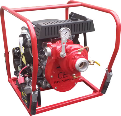 [P-7365 (PFP-20HPHND-HP)] Fire Pump 20hp High Pressure - 38mm outlet - CET