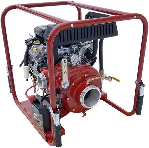[P-7599 (PFP-18HPVGD-1D)] Fire Pump 18hp Pressure/Volume  - Gas Powered - CET